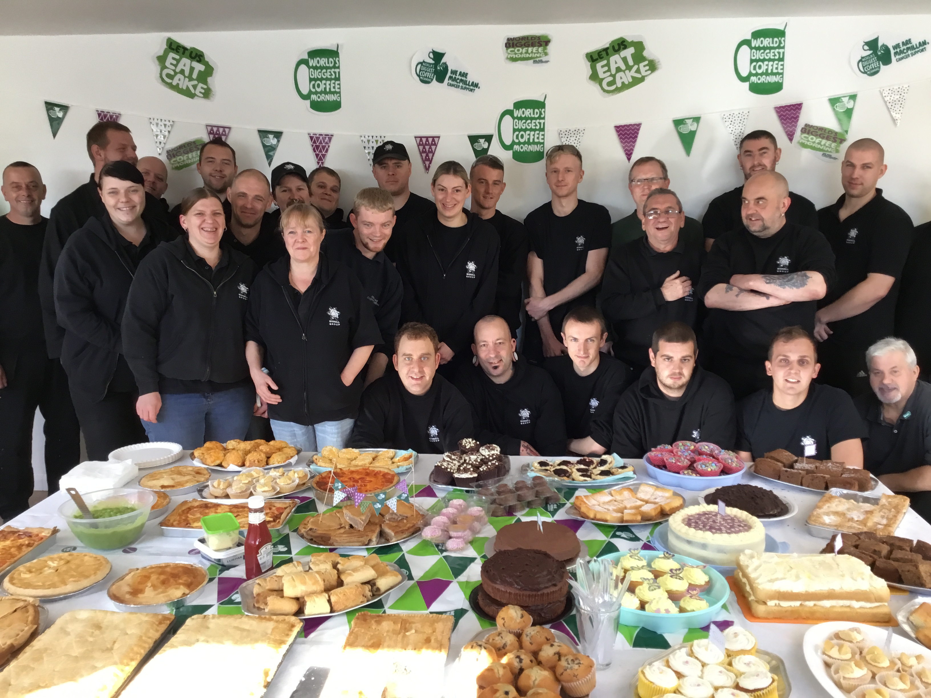 Cobtec raise £515 for Macmillan
