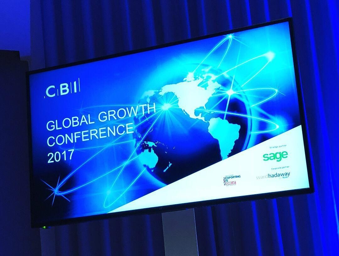 Bignall speak at CBI Global Growth Conference