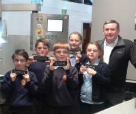 Aycliffe Village Primary school visits Cobtec